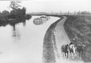 Canal Outside Middleport 1907