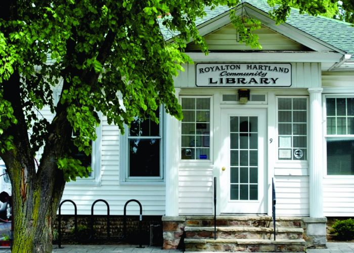 Library in Middleport NY
